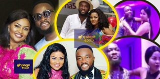 Video: Nana Ama McBrown Reacts To Her Husband's Constant 'Moody' Attitude In Public