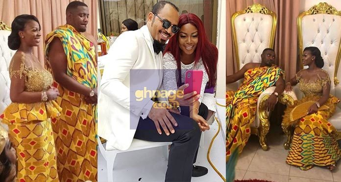 Video: Nigerian Actor Ramsey Noah Shows Up At John Dumelo's Traditional Wedding