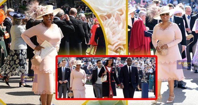 Oprah Winfrey's look at the Royal Wedding 2018 got people talking (Photos)