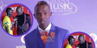 See Patapaa's Dressing To The Ghana DJ Awards 2018 (Photos)
