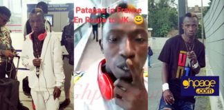 Patapaa shares first photos and Video from his vacation in France