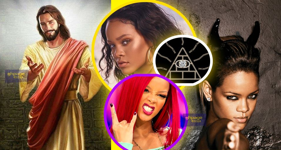 Rihanna Telling Kids that 'If Jesus Hasn't Answered Your Prayers, Try Satan' Is not true, it's a Fake Quote