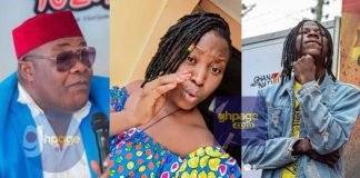 "Screenshot: Stonebwoy's Younger Sister 'Slaps' Willi Roi For Calling His Brother An ""Ewe Eagle"""