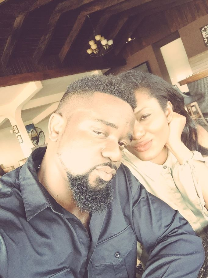 Sarkodie's daughter in a beautiful Kente Outfit in latest Photos