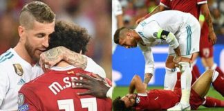 Egyptian Lawyer Sues Ramos 1.2 Billion Dollars Over Salah Injury