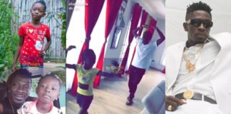 Shatta Wale's First Daughter, Cherissa Teaches His Father How To Do The Ballet Dance