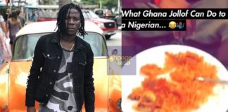 Video: Stonebwoy Cooks Jollof For A Nigerian In Miami And See His Reaction Afterwards