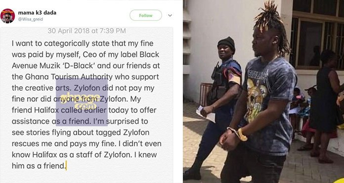 """Video+Photo: """"Zylofon Did Not Pay My Court Fine Nor Did Anyone From Zylofon"""" – Wisa Greid On Halifax Ansah's Supposed GHC10k Bailout"""