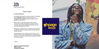 Zylofon Media disassociates itself from ethnocentric comments by Willi Roi against Stonebwoy