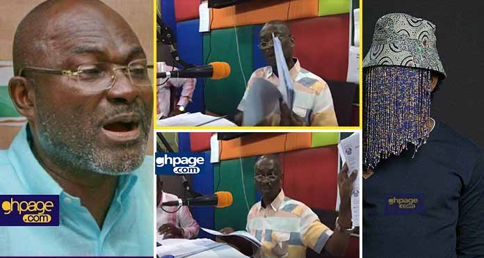 Video: Kweku Baako provides documents to prove that Anas pays his tax and legitimately owns the land at the trade fair
