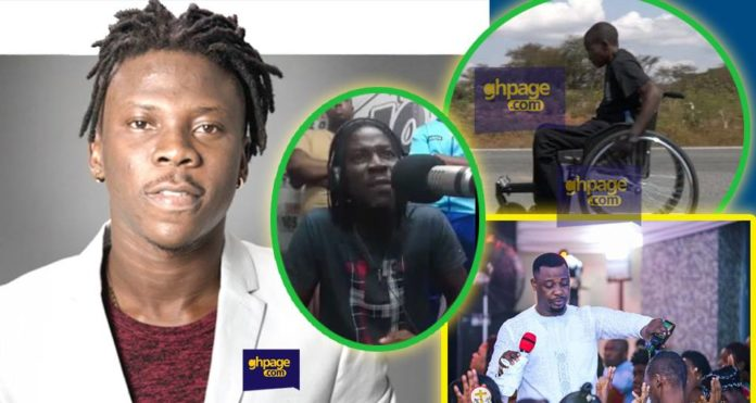 Video: Stonebwoy Talk About His Disabled Challenges, Death Prophecies, Says He's Not Safe