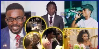 Ghanaian celebrities turn up to support NAM 1's Menzgold BET cocktail party