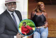 Abena Moet and Abeiku Santana engage in a fight over Fella Makafui
