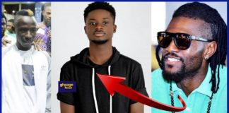 """Video: """"We love your music; keep doing you"""" - Adebayor inspires Patapaa after Kuami Eugene 's comment"""
