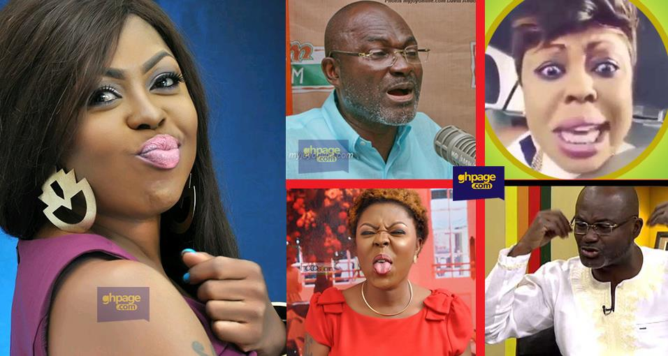 Afia Schwar launches fresh attacks on Kennedy Agyapong after Anas Video