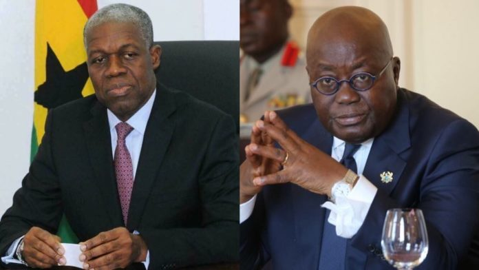 President Akufo-Addo's message to the family of Fmr Veep Amissah Arthur