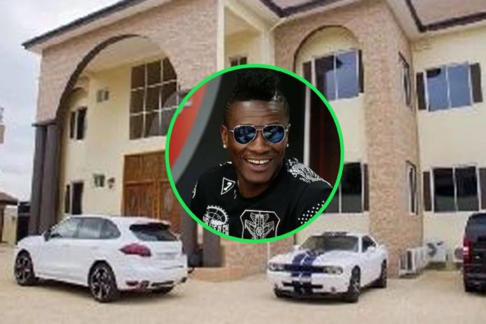 Black Stars Captain Asamoah Gyan's East Legon Mansion Faces Demolition