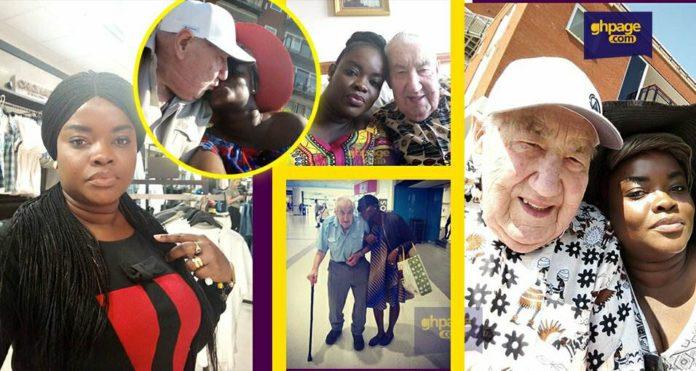 'I met my husband through sakawa' - Ashlorm TheZionist details how she met her 90-year-old white husband