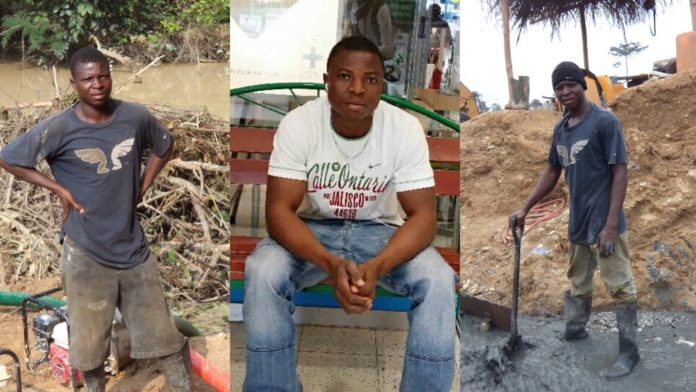 5 Ghanaian illegal miners arrested: leader of the gang Bawah Solomon Johnson still missing