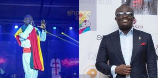 Bola Ray reacts to Patapeezy's performance at Ghana meets Naija 2018 concert