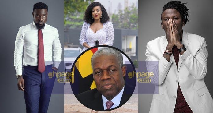 Celebrities extend condolences to Amissah Arthur's family