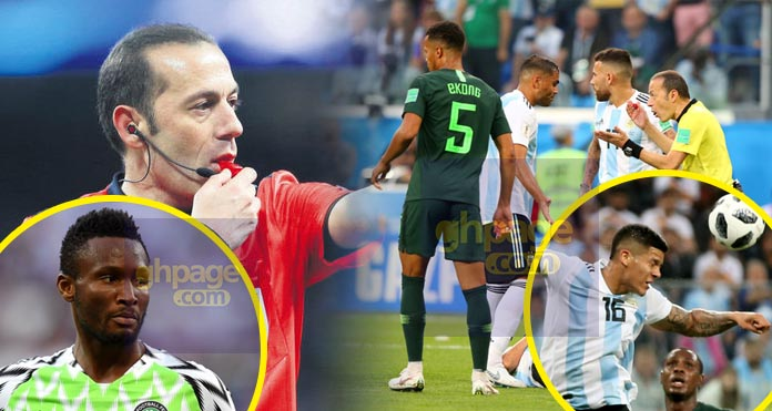 I don't know why I didn't award Nigeria the second penalty – Referee reveals