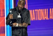 Davido wins 2018 BET best international act