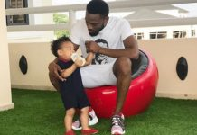 Nigerian star Dbanj loses his only son