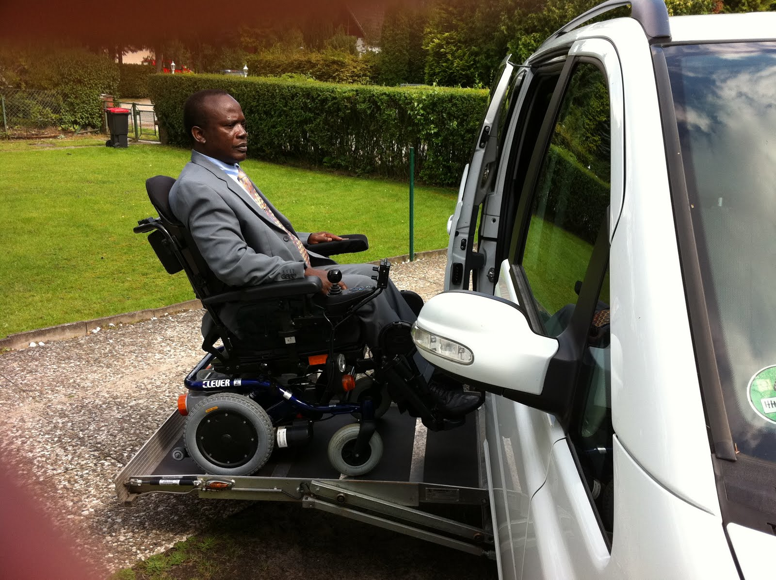 Story Of Apostle Dr. Michael Ntumy & 8 Years Of Paralysis