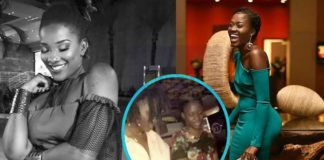 """Throwback video of late Ebony and Fella Makafui shaking their """"bum bum"""" pops up on social media"""