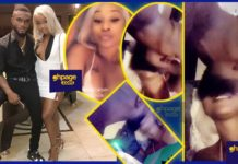 Efia Odo shares photos and videos with her boyfriend