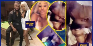 Efia Odo shares photos and videos with her boyfriend