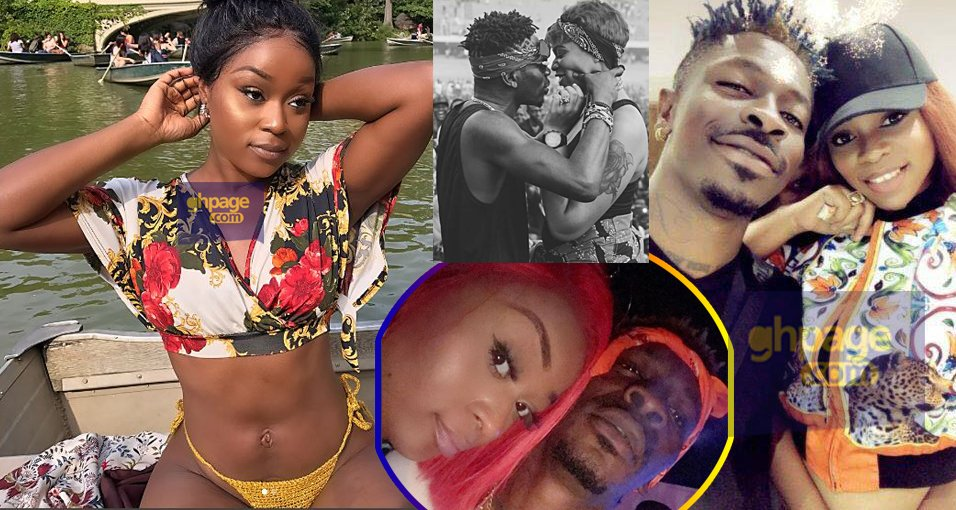 Image result for shatta wale Efia Odo