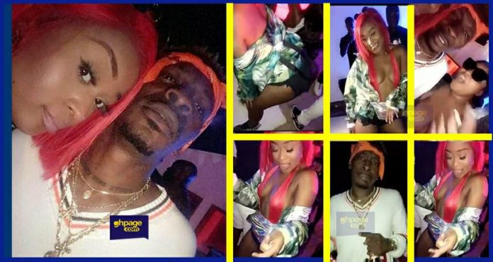 Efia Odo twerks on Shata Wale at 'Wizkid's party with Shatta Wale after Ghana meets Naija deepens dating rumors