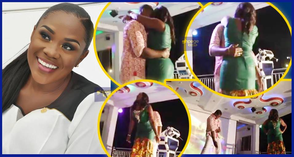 Vivian Jill's son and Emelia Brobbey engage in one-on-one dance battle