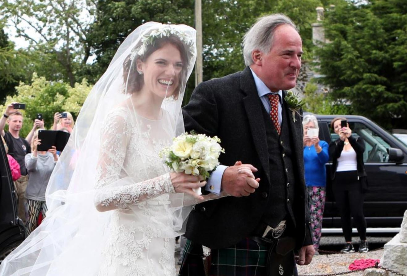 Game of Thrones stars Kit Harington and Rose Leslie tie the knot