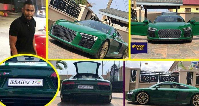 Ibrah One Buys A Brand New Audi R8 2017 Model Estimated At $150K