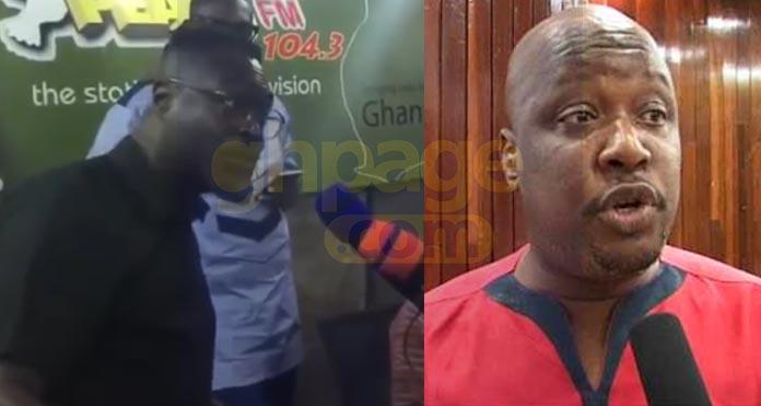 Countryman Songo storms Peace fm fires Kwami Sefa Kayi and Ghana Football Administrators