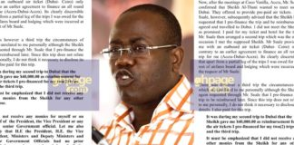 Purported Nyantakyi press release fake - PRO reveals