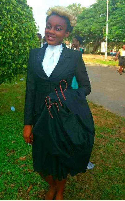 Tears flow as a 24-year-old lawyer is buried few months after her wedding (Photos)