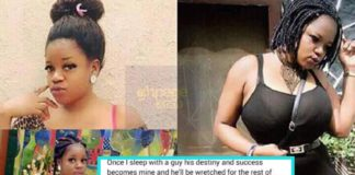 Slay queen talks about what happens to men who sleeps with her