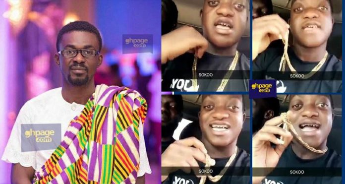 Sumsum Ahuofedua claims Nana Appiah Mensah has given him a Menzgold Chain (Video)