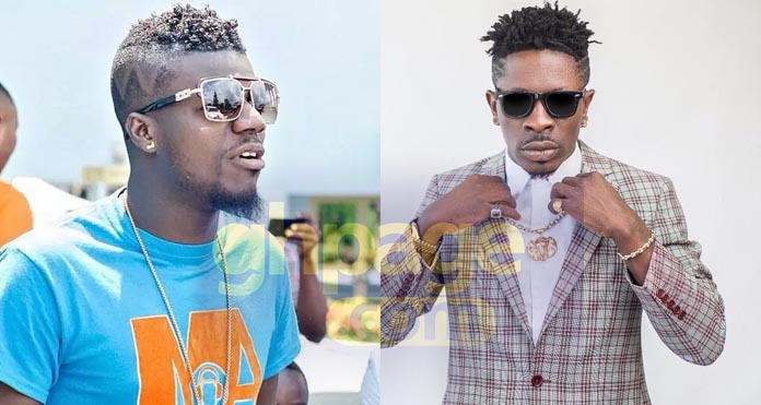 "Pope Skinny Shatta Wale - "" I'll slap you if you don't bring my $10k – Shatta Wale warns Pope Skinny"