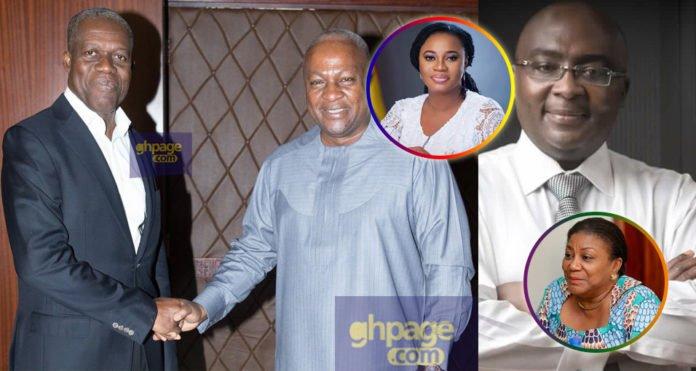 John Mahama,Bawumia,Anas,Charlotte Osei,Dumelo & others react to Amissah Arthur's death