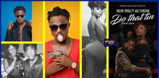 Richy Rymz set to release 'Do that tin' with Ebony's replacement Ms Forson on 17th June 2018