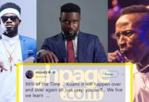 This is what Sarkodie has to say about Patapaa-Kuami Eugene beef