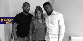 Sarkodie shares a rare photo of his pretty siblings