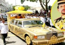 The Sultan Of Brunei Owns 7000 Luxurious Cars