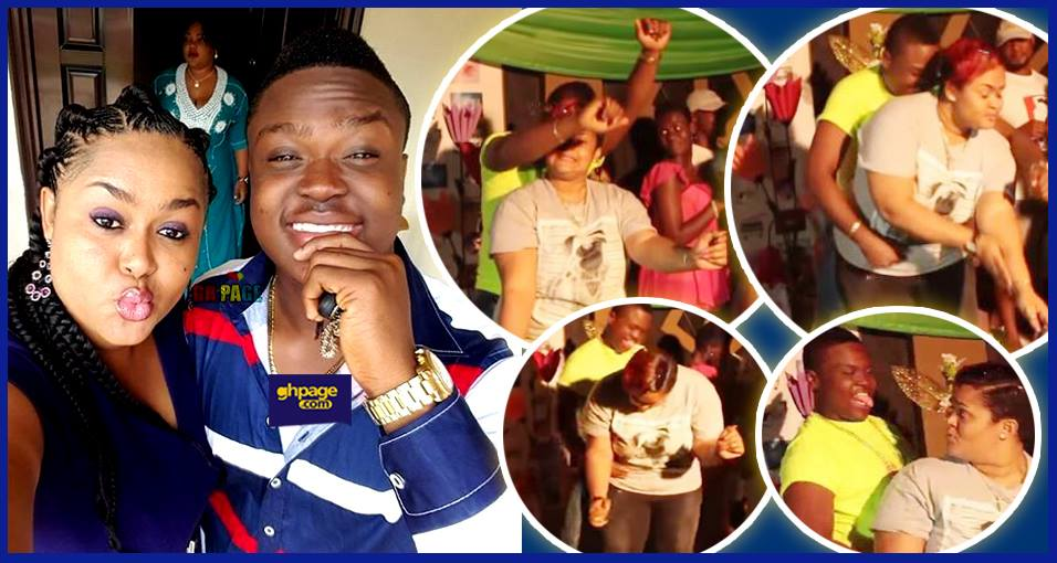 Video:Vivian Jill Lawrence's crazy dance with her son