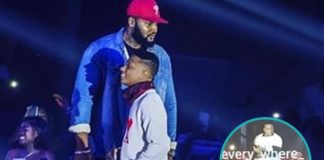 Die-hard fan of Wizkid fights bodyguards just to touch him